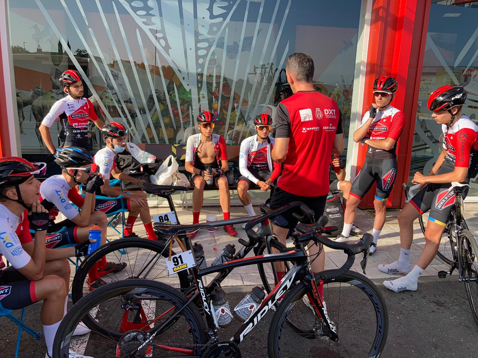 Tenerife BikePoint Pizzería Española Pascua