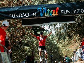 Foto de la entrada triunfal el año pasado de Xabier Berasategi en Barambio (Foto: Ixone Nuñez - @ixonenunezph)