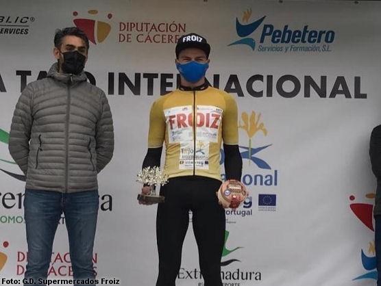 Marcos Jurado fue el primer ganador absoluto de la Vuelta al Tajo Internacional (Foto: CD Supermercados Froiz