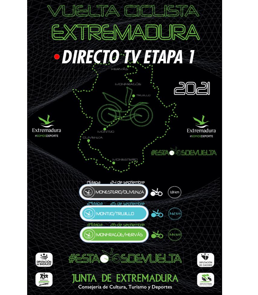 Etapa 1 TV Vuelta Extremadura