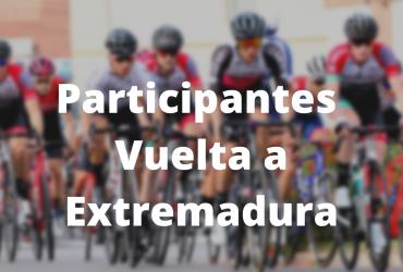 Participantes Vuelta Extremadura