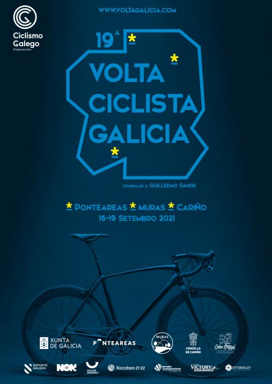Cartel de la Volta a Galicia 2021