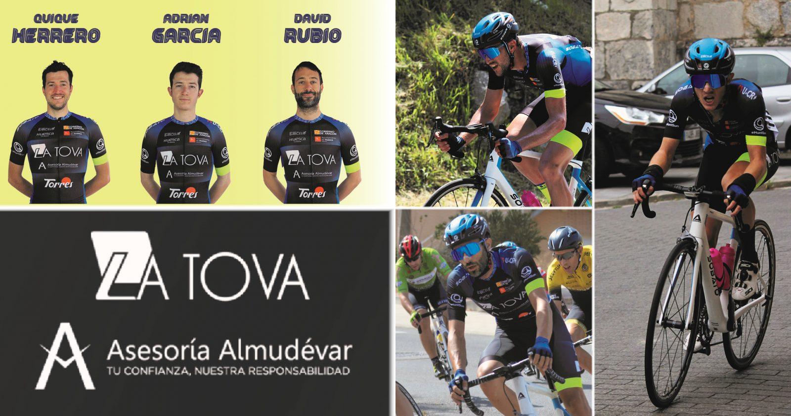 David Rubio Quique Herrero Adrián García La Tova